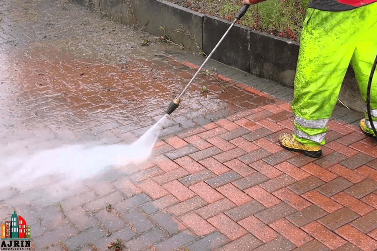 Power Wash or Steam Clean